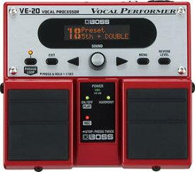 Boss Vocal Processor VE-20ボス ボーカル専用エフェクター