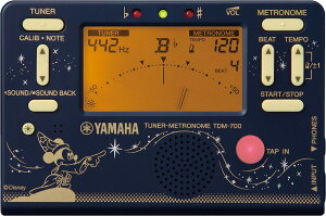 【2021年度限定モデル】YAMAHA DISNEY FANTASIA TDM-700DF2 ヤマハ ディズニー ファンタジア チューナー&メトロノーム
