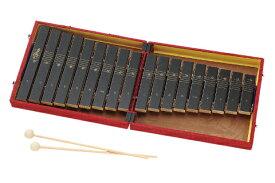 ZEN-ON No.184WA全音 ゼンオン コンパクト木琴カラー:赤 レッド