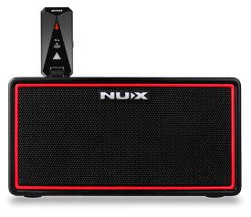 【在庫あります!】NUX Mighty Air Wireless Stereo Modeling Amplifier ニューエックス ミニアンプ ブルートゥース ワイヤレス 充電式