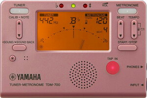 【数量限定特価】YAMAHA TDM-700P ヤマハ チューナー/メトロノーム ピンク