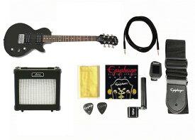 Epiphone Les Paul Express Ebony set エピフォン レスポール ミニギター・セット【店頭受取対応商品】