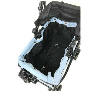 【送料無料】【マザーカート】ラプレL【MOTHRCART】アジリティー下段デニムフレーム&バッグセット
