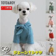[サイズ]S〜XL【メール便対応】TOTO&ROYジェーンTシャツ春物Tシャツ犬服ペット・ペットグッズ犬用品小型犬中型犬