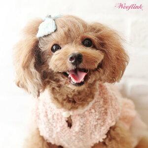 【WOOFLINK】ウーフリンクVINTAGEGIRL(ヘアアクセ/犬用/ビジュー/リボン/バレッタ)