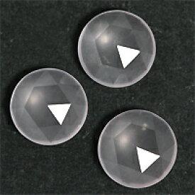 【キャッシュレス5%還元】(ラウンド7.8mm前後)ローズクォーツのリーズナブル 宝石 ルース ストーン
