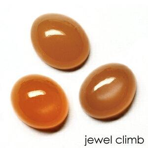 (オーバルカボション2.5CTアップ)オレンジムーンストーンのリーズナブル 宝石 ルース ストーン