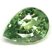 煌くグリーンの雫が美しいデマントイドガーネット0.45CT
