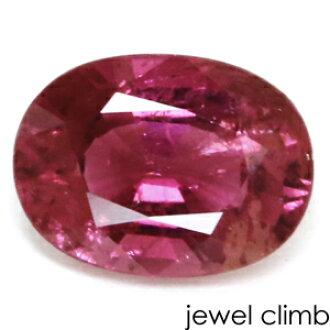 玫瑰粉红电气石宝石卢斯1.50CT