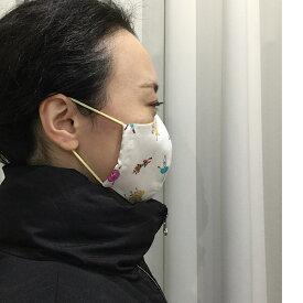 バレエ柄マスク大人用 Ballerina Mask