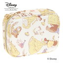 """ディズニー """"美女と野獣"""" Disney """"Beauty and the Beast"""" Series アクセサリーポーチ / 33433"""