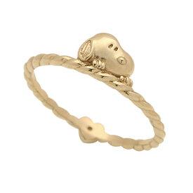 スヌーピー &ハート リバーシブル ピンキー リング 指輪大人 グッズ 誕生日プレゼント ギフト ラッピング おすすめ 女性 レディースジュエリー