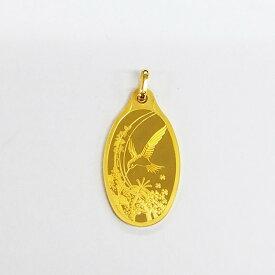 PAMP 純金 K24 5g ハチドリバチカン一体型(バチカンも純金です)