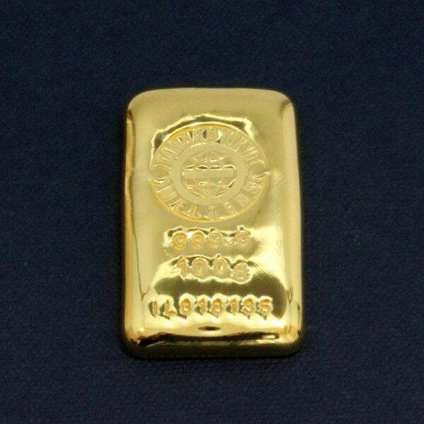 【送料無料】24金 インゴット INGOT [田中貴金属 インゴット 100g] (ingot 24金 純金 K24 インゴット 品位 99.99%)ゴールドバー