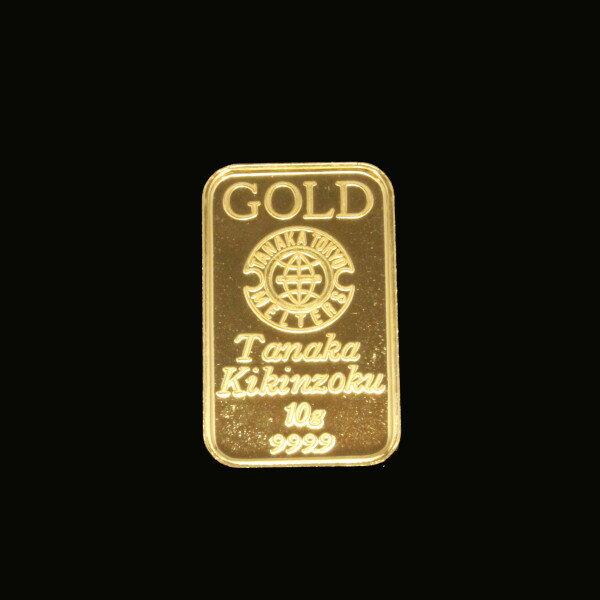 【送料無料】24金 インゴット INGOT [田中貴金属 インゴット 10g] (ingot 24金 純金 K24 インゴット 品位  99.99%)ゴールドバー