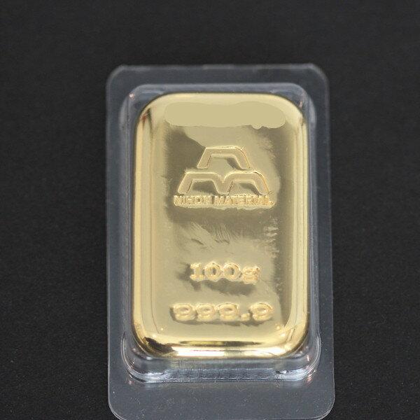 【送料無料】24金 インゴット INGOT [日本マテリアル インゴット 100g] ゴールドバー『金の国際ブランド グッドデリバリー・バー』