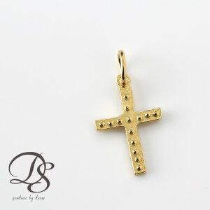 クロス ペンダント ゴールド チャーム 18k 18金 ペンダントトップ 十字架 クロス メンズ レディース 送料無料 プレゼント DEVAS ディーヴァス