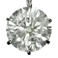 Ptダイヤモンドネックレス1.0ct