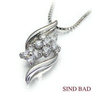 スイートテンダイヤモンド プラチナ ネックレス ペンダント 0.12ct 【スイート10 ダイヤモンド】