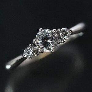 婚約指輪 プラチナリング ティファニー爪 ダイヤモンド 0.3ct以上 VVS1 エクセレント PT900 エンゲージリング