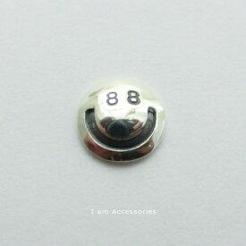 88 Smile Pierce Silver925[ピアス片方/片耳]/ ハッピースマイルピアス シルバー925【メール便可】【オリジナル】【スマイルマーク】【i am accessories】