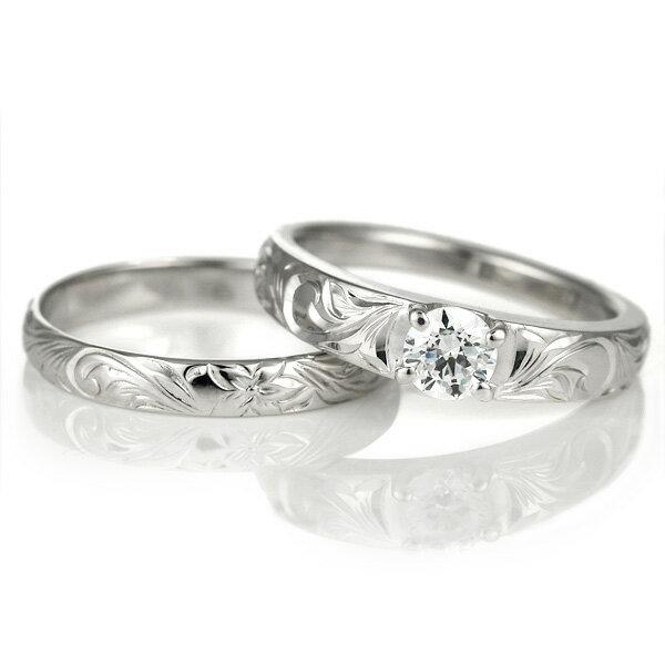 ハワイアンジュエリー 婚約指輪 キュービックジルコニア リング 指輪 シルバー シンプル 人気【DEAL】