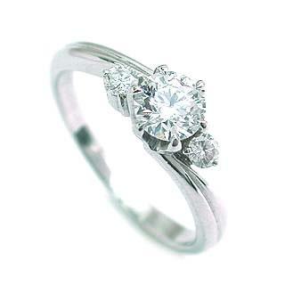 AneCan掲載 (Brand アニーベル) Pt ダイヤモンドデザインリング(婚約指輪・エンゲージリング) メレ 【楽ギフ_包装】【DEAL】