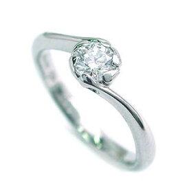 AneCan掲載 (Brand アニーベル) Pt ダイヤモンドデザインリング(婚約指輪・エンゲージリング) ソリティア 一粒 【楽ギフ_包装】 【DEAL】