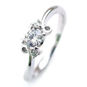 (Brand Jewelry fresco) Pt ダイヤモンドリング(婚約指輪・エンゲージリング)【楽ギフ_包装】【DEAL】 末広 母の日【今だけ代引手数料無料】