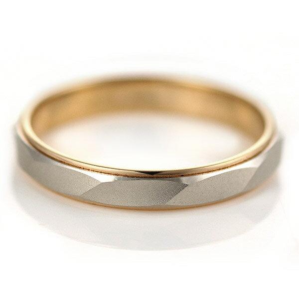 ペアリング ゴールド リング ( Brand Jewelry Oferta ) プラチナ950・K18ピンクゴールド ペアリング(結婚指輪)【楽ギフ_包装】
