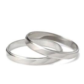 プラチナ ペアリング 結婚指輪 マリッジリング つや消し シンプル 2本セット【楽ギフ_包装】 末広 楽天スーパーSALE