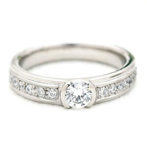 ( Brand Jewelry fresco ) プラチナ ダイヤモンドリング(婚約指輪・結婚指輪)【楽ギフ_包装】【DEAL】 末広 母の日【今だけ代引手数料無料】
