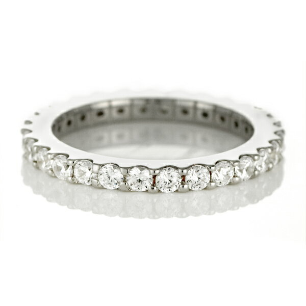 プラチナ フルエタニティリング ( Brand Jewelry me. ) シルバー925・プラチナコーティング 【楽ギフ_包装】【DEAL】