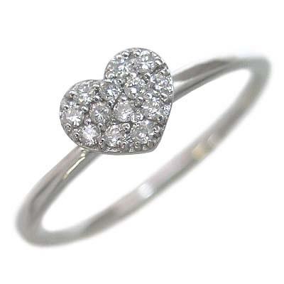 ( Brand Jewelry me. ) K10ホワイトゴールド ダイヤモンドリング【楽ギフ_包装】