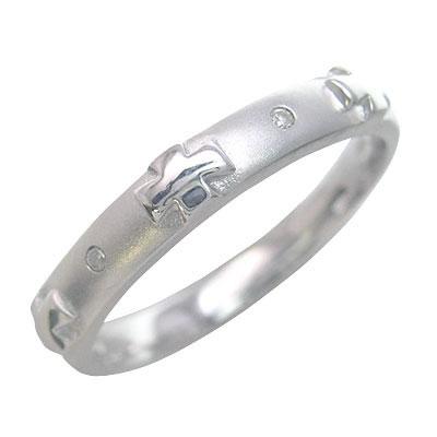 ( Brand Jewelry me. ) プラチナ900 ダイヤモンドペアリング【楽ギフ_包装】