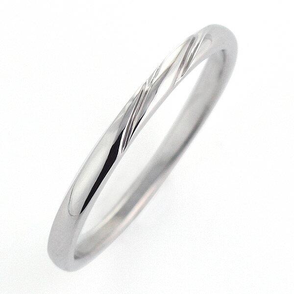 ペアリング シンプル ペアリング プラチナ リング 結婚指輪 マリッジリング