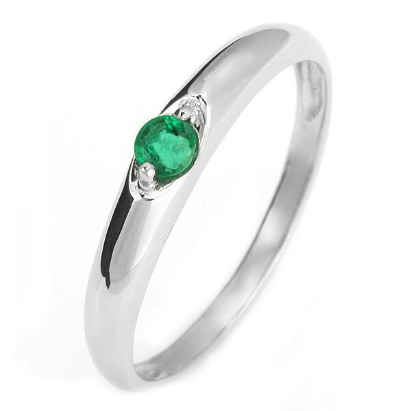 結婚指輪 マリッジリング ペアリング プラチナ リング エメラルド 5月 誕生石【楽ギフ_包装】【DEAL】