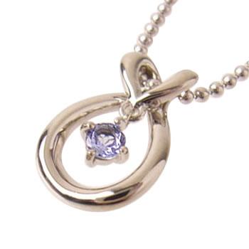( Brand Jewelry with me. ) ( 12月誕生石 ) タンザナイトバースディペンダントネックレス【楽ギフ_包装】