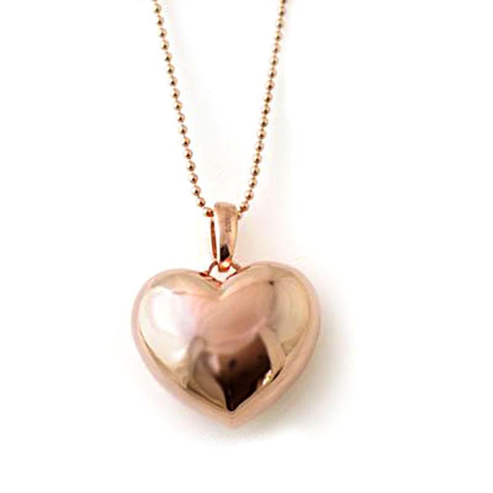 ( Brand Jewelry me. ) シルバー925・ピンクゴールドコーティングペンダントネックレス-QP【あす楽対応!!】【楽ギフ_包装】【DEAL】