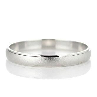 Wedding ring wedding ring Platinum pair pairing ♪ monogrammed initials engraved platinum ring bridal jewelry bridal Rings Bridal wedding ring ring simple