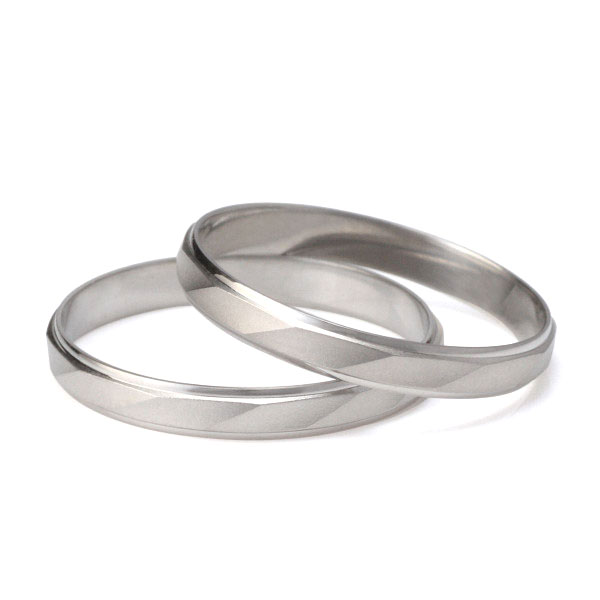 ペアリング シンプル 結婚指輪 マリッジリング ペアリング プラチナ 2本セット 【楽ギフ_包装】