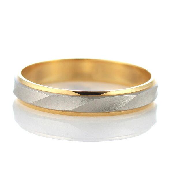 プラチナ ペアリング【レビュー高評価!!】 ゴールド 結婚指輪 マリッジリング 人気 指輪 ギフト プレゼント 刻印無料 文字入れ