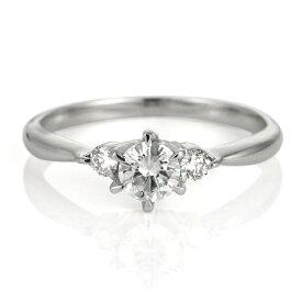 婚約指輪 エンゲージリング ダイヤモンド プラチナ リング ★今ならバラケースプレゼント★【楽ギフ_包装】