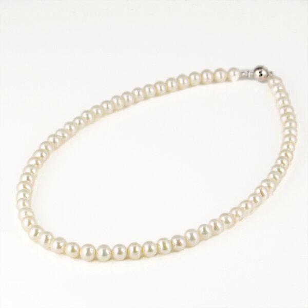 ネックレス パール 真珠 ブラス ネックレス 6月誕生石 プレゼント 人気 おすすめ レディース 女性【楽ギフ_包装】【あす楽】