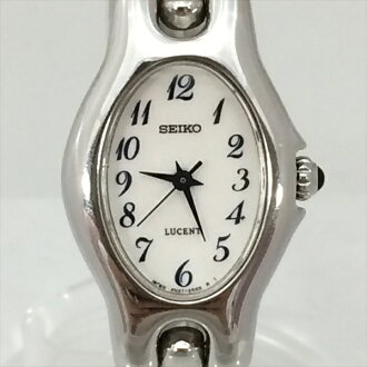 SEIKO (Seiko) LUCENT (Lucent) watches white stainless steel (SS) quartz ladies watch all shop TO