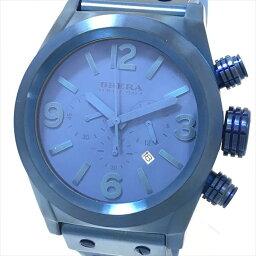 BRERA(burera)OROLOGI ororoji BRETC4521計時儀SS×橡膠石英人青藍色[中古]手錶netshop[2018518]