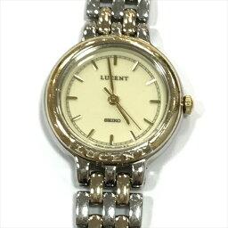 SEIKO(精工)LUCENT(朗訊)4N21-0350 3針不銹鋼(SS)石英女士手錶all shop oc