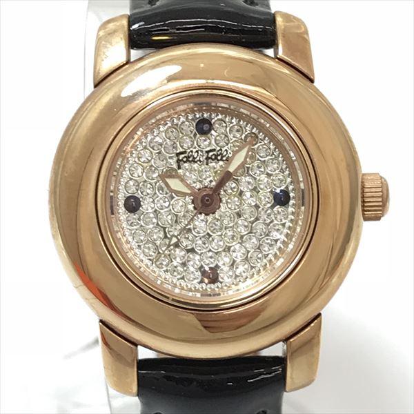 FolliFollie(フォリフォリ) WF9R021SS ステンレススチール(SS)×エナメル クォーツ レディース 【中古】 腕時計 netshop