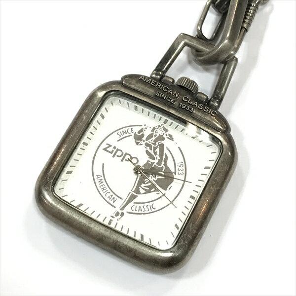 ZIPPO ジッポ 懐中時計 ステンレススチール(SS) メンズ 【中古】 腕時計 all shop oc