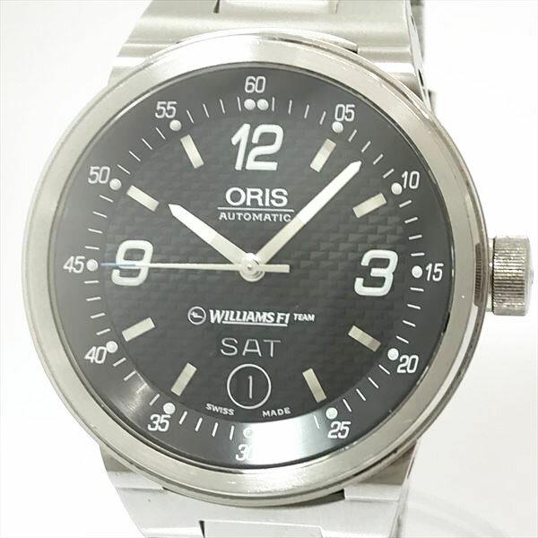 ORIS(オリス) ウィリアムズ 7560 ブラック ステンレススチール(SS) オートマティック(自動巻き) メンズ 【中古】 腕時計 netshop【2018816】